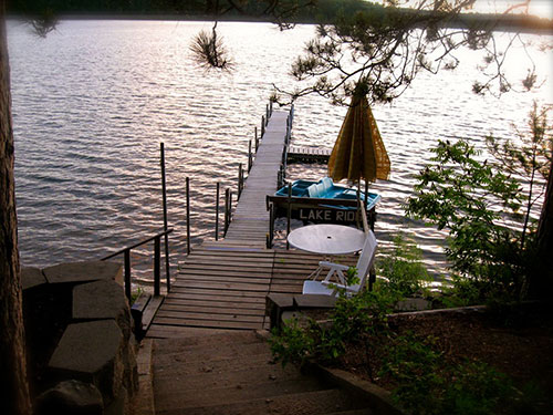 Cabin 2 - View from Main Dock